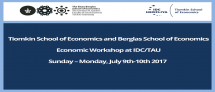 Economic Workshop at IDC/TAU