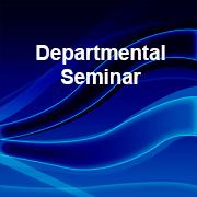 Departmental Seminar 2020-21